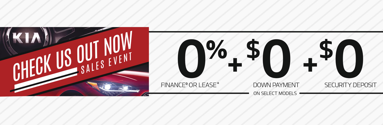 Check Us Out Now Sales Event Kia of North Bay