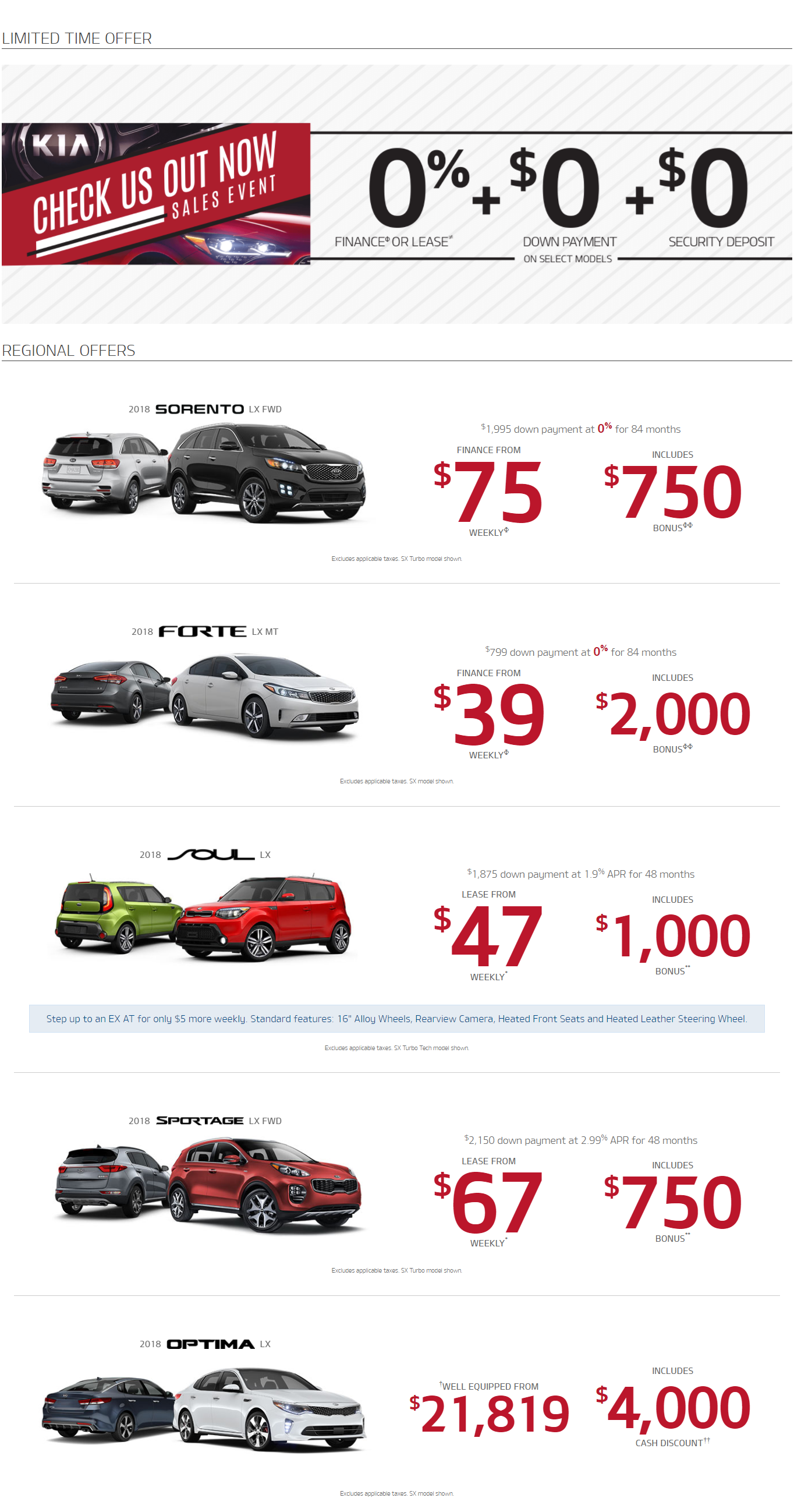 Kia Offers North Bay, Ontario, Used Car Deals North Bay, Ontario, Kia of North Bay