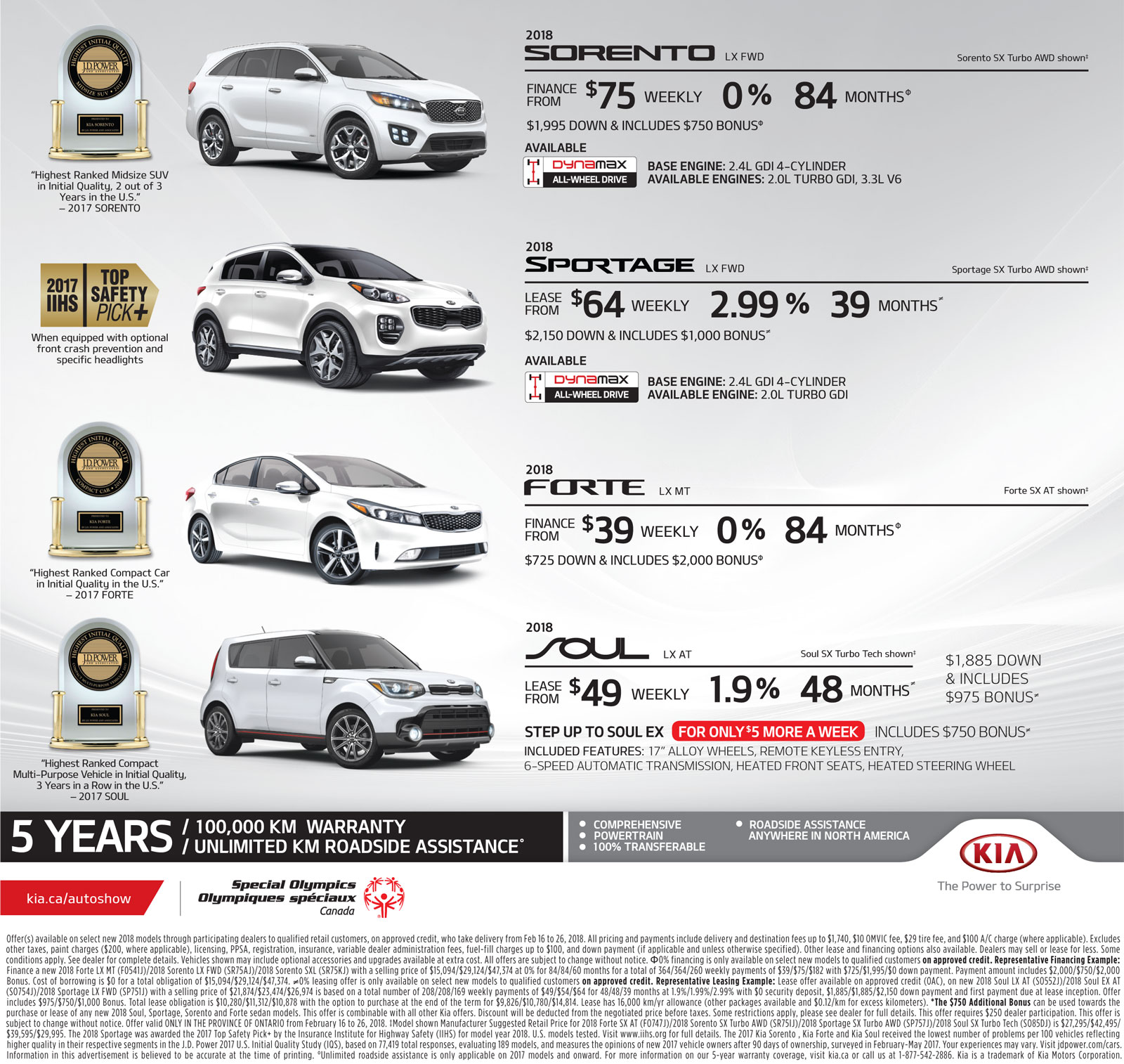New Car Deals North Bay, Ontario, Used Car Deals North Bay, Ontario, Kia of North Bay